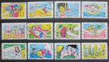 Poštovní známky Francie 2016 Prázdniny Mi# 6487-98 Kat 19€