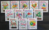 Poštovní známky Francie 2016 Vánoce Nový rok Mi# 6623-34 Kat 19€