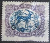 Poštovní známka Libérie 1923 Antilopa úřední Mi# 141