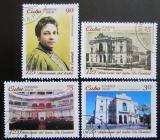 Poštovní známky Kuba 2010 Divadlo La Caridad Mi# 5434-37