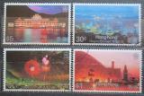 Poštovní známky Hongkong 1983 Hongkong v noci Mi# 415-18 Kat 15€