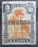 Poštovní známka Nyassa Port. 1903 Žirafa přetisk Mi# 46