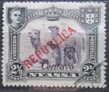Poštovní známka Nyassa Port. 1921 Velbloudi přetisk Mi# 82 II