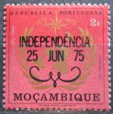 Poštovní známka Mosambik 1975 Meteorologie přetisk Mi# 580