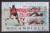 Poštovní známka Mosambik 1975 LOH Mnichov přetisk Mi# 583