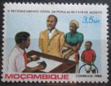 Poštovní známka Mosambik 1980 Sčítání lidu Mi# 777