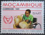 Poštovní známka Mosambik 1981 Mezinárodní rok postižených Mi# 809
