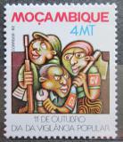 Poštovní známka Mosambik 1982 Ostražitost národa Mi# 906