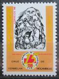 Poštovní známka Mosambik 1996 Národní červený kříž, 10. výročí Mi# 1362