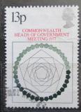 Poštovní známka Velká Británie 1977 Konference Commonwealthu Mi# 744