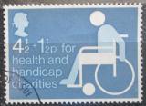 Poštovní známka Velká Británie 1975 Pomoc postiženým Mi# 668