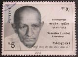 Poštovní známka Nepál 2012 Basudev Luintel, spisovatel Mi# 1069