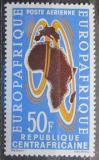 Poštovní známka SAR 1963 Organizace Europafrique Mi# 46