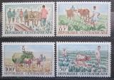 Poštovní známky SAR 1965 Farmářství Mi# 74-77 Kat 5€