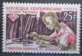 Poštovní známka SAR 1966 Zpracování diamantů Mi# 101