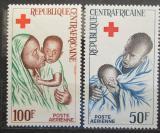 Poštovní známky SAR 1965 Červený kříž Mi# 96-97
