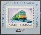 Poštovní známka Rumunsko 1979 Lokomotiva Mi# Block 166