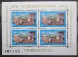 Poštovní známky Rumunsko 1979 Poštovní služby, INTEREUROPEANA Mi# Block 157