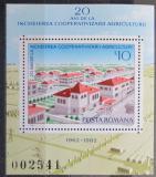 Poštovní známka Rumunsko 1982 Zemědělské družstvo Mi# Block 189