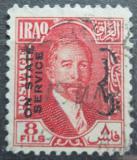 Poštovní známka Irák 1932 Král Faisal I., úřední Mi# 80