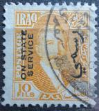 Poštovní známka Irák 1932 Král Faisal I., úřední Mi# 81
