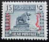 Poštovní známka Irák 1941 Babylonský lev, úřední Mi# 120