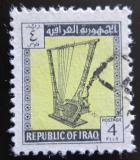Poštovní známka Irák 1963 Harfa Mi# 354