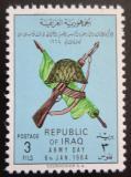 Poštovní známka Irák 1964 Den armády Mi# 373