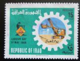 Poštovní známka Irák 1966 Den práce Mi# 448