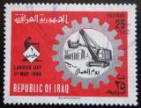 Poštovní známka Irák 1966 Den práce Mi# 449