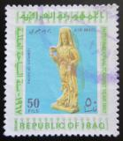 Poštovní známka Irák 1967 Socha z antického paláce Hatra Mi# 509