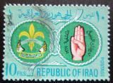 Poštovní známka Irák 1967 Skauting Mi# 516 A