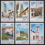 Poštovní známky Kuba 2008 Historická města Mi# 5071-76