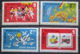 Poštovní známky Rumunsko 1975 Konference bezpečnosti Mi# 3280-83