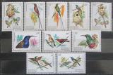 Poštovní známky Rwanda 1983 Ptáci Mi# 1214-23