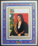 Poštovní známka Rwanda 1973 Umění, Albrecht Dürer Mi# Block 32