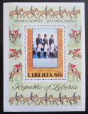 Poštovní známka Libérie 1977 LOH Montreal, jezdectví Mi# Block 86