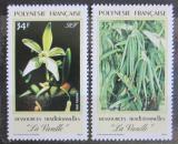 Poštovní známky Francouzská Polynésie 1990 Vanilovník plocholistý Mi# 549-50