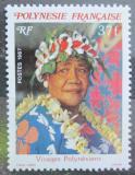 Poštovní známka Francouzská Polynésie 1987 Domorodkyně Mi# 472