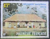 Poštovní známka Francouzská Polynésie 1988 Tradiční dům na Tahiti Mi# 501