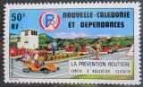 Poštovní známka Nová Kaledonie 1977 Bezpečnost silničního provozu Mi# 591