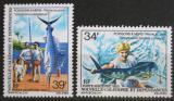 Poštovní známky Nová Kaledonie 1980 Rybolov Mi# 644-45
