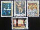 Poštovní známky Kuba 2003 Umění Mi# 4496-99