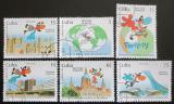 Poštovní známky Kuba 1999 EXPO Hanover Mi# 4232-37