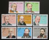 Poštovní známky Kuba 1993 Vědci Mi# 3661-68