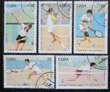 Poštovní známky Kuba 1993 Davis Cup, Tenis Mi# 3655-59