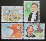 Poštovní známky Kuba 1993 José Martí Pérez Mi# 3689-92