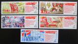 Poštovní známky SSSR 1971 Sjezd KSSS Mi# 3924-28