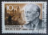 Poštovní známka SSSR 1971 William Foster Mi# 3942 II