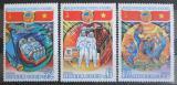 Poštovní známky SSSR 1980 Interkosmos Mi# 4978-80